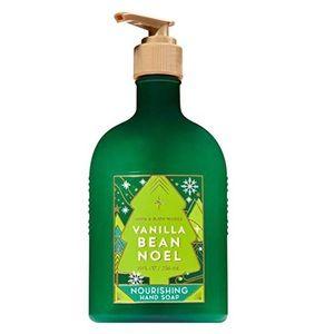 New Bath & Body Works Vanilla Bean Noel Hand Soap